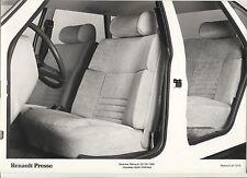 N°4964  / RENAULT 20 / 30 : photo de presse 1981 intérieure 20 GTD