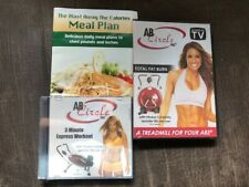 SEALED - AB Circle Pro DVD lot - 3 Min Workout & Total Fat Burn - BRAND NEW