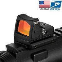 Mini RMR Collimator Glock/Handgun Reflex Red Dot Sight fit 20mm Weaver Rail