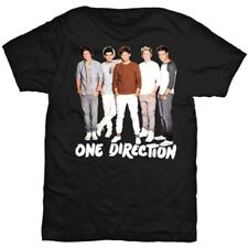 Large Women's One Direction T-shirt - 1d Band Standing Official Womens New