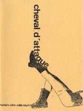 PASCHAL-LEJEUNE FOULC FRONTIER MARTEL BLAVIER Collection 14 N° CHEVAL D'ATTAQUE