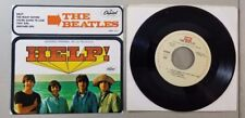BEATLES HELP VINTAGE MEXICAN EP 45 RECORD RE13