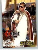 2001 Fleer WWE Wrestlemania #89 Jim Ross