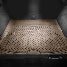 Premium Trimmable Trunk Mat Cargo Liner for Auto Car Sedan SUV Van Tan