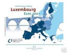 2007 ufficiale LUSSEMBURGO 10 monete EURO Luxembourg