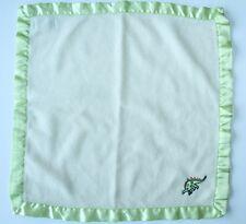 Blankets & Beyond Green Stegosaurus Dinosaur Lovey Square Blanket