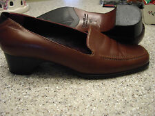 Womens Shoes COLE HAAN Size 8 1/2B Brown CAREER PUMP  EXC