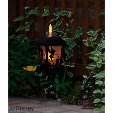 Disney Tinker Bell Solar Silhouette Garden Light  Lamp Without wiring From Japan