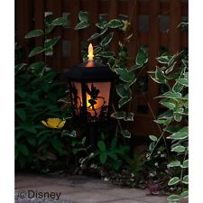 Disney Tinker Bell Solar Lantern Silhouette Garden Light wireless Lamp FromJapan