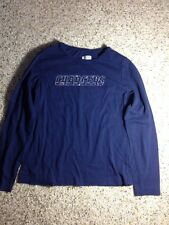 San Diego CHARGERS NFL Team Blue Long Sleeve SHIRT Womens M. Ked