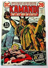 1972 Bronze Age DC Comics Kamandi No.1 The Last Boy On Earth! 8.4 VF