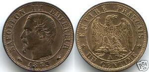 NAPOLEON III 1 CENTIME 1853 A PARIS QUALITE !!!