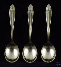 Cranford Silver Plate Spoons 4 pc.