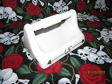 Toilet Paper Tissue Holder Arctic White Ceramic Expedited Shipping Included