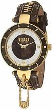 Versus by Versace Women's SCK080016 'KEY BISCAYNE II' Quartz Leather Brown Watch