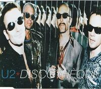 U2 ‎Maxi CD Discothèque (3 titles) - Europe (VG/M)