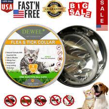 Dewel Cheaper than Seresto! Flea & Tick Control Collar For Cat 8Month Protection