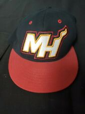 Miami Heat Red and Black Hat Cap Size Large/Extra Large L/XL