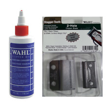 Wahl 2161 Professional Stagger-Tooth 2 Clipper Blade with Oil and Screws