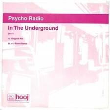 """Psycho Radio - In The Underground - 12"""" Vinyl Record"""