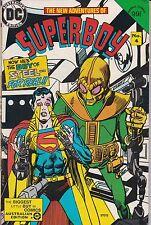 Australian Edition of Superboy #4. Fine+. 1984