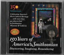150 Years of American Smithsonian official multimedia guide (Cd)Brand New Sealed