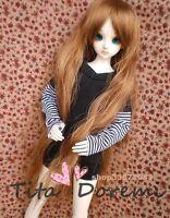 Bjd Doll Wig 1/3 8-9 Dal Pullip AOD DZ AE SD DOD LUTS Dollfie brown/ Toy Hair