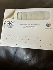 Color Street 100% Real Nail Strips- HOME SLEET HOME