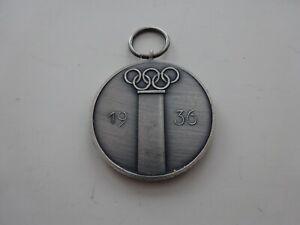 A47-27 Deutsches Olympia Ehrenzeichen1936 Medaille 57er die Letzten