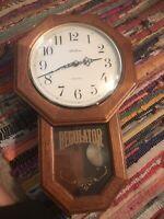 Seth Thomas Regulator Westminster Wall Clock