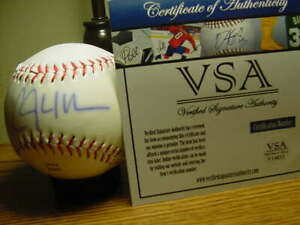 CLAYTON KERSHAW signed auto ROLB baseball ball  VSA coa/hologram DODGERS