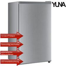 Yuna Kühlschrank Standkühlschrank Freistehend 0* Eisfach 91 L silber EEK: A+