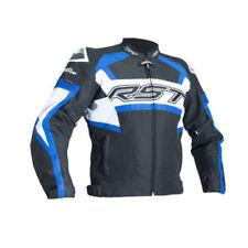 Blousons imperméables bleus longueur taille pour motocyclette
