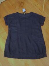 . free woman NWT navy blue tunic dress top  linen  MIX 16