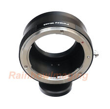Nikon lens to Micro 4/3 M43 Adapter Ring with Tripod Mount Olympus E-P5 E-PL5