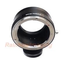 Nikon lens to MFT M43 Adapter with Tripod Mount Panasonic GM5 G85 G80 GX8 GX85