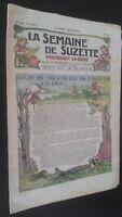 Revista Dibujada La Semana De Suzette que Aparecen El Jueves 1929 N º 18 ABE