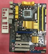 ASUS P5Q P45 ICH10R LGA775 Mobo + IO Shield Ready for LGA771 MOD CPUs like E5450
