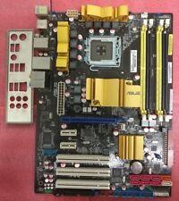 ASUS P5Q P45 ICH10R LGA775 Mobo + IO Shield Ready for LGA771 MOD CPUs like E5450