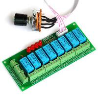 Balanced Four Stereo Audio Signal Input Selector Relay Module.