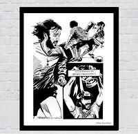 RICKY VILLA - Tottenham Hotspur 1981 FA CUP FOOTBALL ART PRINT by TREVILLION