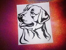 LABRADOR RETRIEVER dog lover cool car window bumper vinyl sticker/decal
