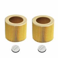 2 Stück Patronen-Filter für Kärcher SE 4002, WD 2.200, WD 3.200, WD 3.300 M
