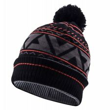 SealSkinz Impermeabile Bobble Cappello Nero/asfalto/Fuoco D'artificio L/XL RRP £ 28 10% di sconto