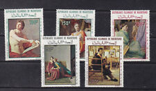 mauritania 1967/8 Sc C66/70 paintings,set MNH (90,250fr no gum)     p2130