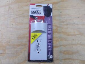 Surge Protector Wallplate by Power Sentry