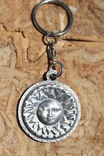 Hastings Pewter Lead Free Pewter Keychain Celestial Sun key chain Gift Cool NEW