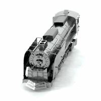 Metal Earth Steam Locomotive 3D Laser Cut Metal DIY Model Train Rail Build Kit