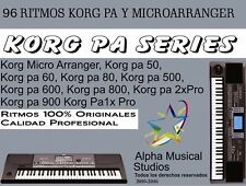 Korg Pa / Korg Microarranger / 96 Ritmos Mexicanos y Latinos