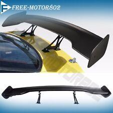 Universal GT Wing ABS BLACK 57 Inch JDM Black Trunk Spoiler Wing